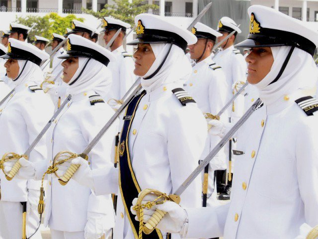 Women in Pak Navy