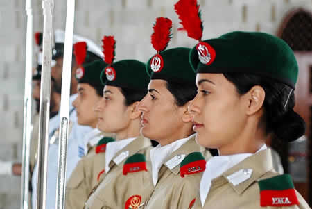 Women in Pak Army